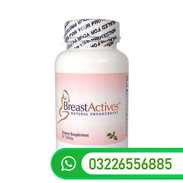 Breast Actives All Natural Breast Enhancement Pills Cream